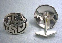 Celtic Interlace Circle Cuff Links