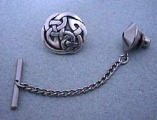 Celtic Interlace Circle Tie Tac